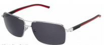 Tag Heuer Automatic Sun Vintage 0882 Sunglasses Sunglasses - 102 Black - Red Temple / Palladium / Grey Outdoor Lens