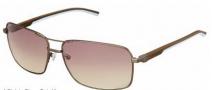 Tag Heuer Automatic Sun Vintage 0882 Sunglasses Sunglasses - 115 Havana - Light Blue Temple / Dark / Gradient Brown Photochromic Lens