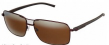 Tag Heuer Automatic Sun Vintage 0882 Sunglasses Sunglasses - 203 Dark Brown - Black Temple / Chocolate / Brown Outdoor Lens