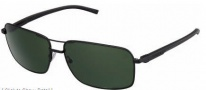 Tag Heuer Automatic Sun Vintage 0882 Sunglasses Sunglasses - 301 Black - Black Temple / Black / Green Outdoor Lens