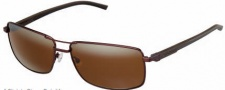 Tag Heuer Automatic Vintage 0883 Sunglasses Sunglasses - 203 Dark Brown - Black / Chocolate / Brown Outdoor Lens