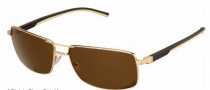 Tag Heuer Automatic Vintage 0883 Sunglasses Sunglasses - 214 Dark Brown - Ivory Temple / Gold / Brown Precision Lens