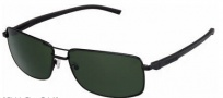 Tag Heuer Automatic Vintage 0883 Sunglasses Sunglasses - 301 Black - Black Temple / Black / Green Outdoor Lens