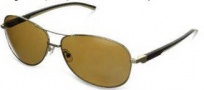Tag Heuer Automatic Vintage 0884 Sunglasses Sunglasses - 214 Dark Brown - Ivory Temple / Gold / Brown Precision Lens
