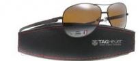 Tag Heuer Automatic Vintage 0884 Sunglasses Sunglasses - 203 Dark Brown - Black Temple / Chocolate / Brown Outdoor Lens