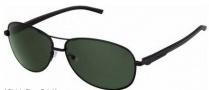 Tag Heuer Automatic Vintage 0884 Sunglasses Sunglasses - 301 Black - Black Temple / Black / Green Outdoor Lens
