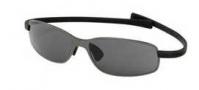 Tag Heuer Curve 2S 5011 Sunglasses Sunglasses - 101 Black Temple / Black Ceramic Frame / Grey Outdoor Lens