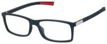 Tag Heuer Urban 7 0511 Eyeglasses Eyeglasses - 001 Matte Black - Red Temple / Matte Black Front