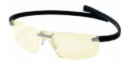 Tag Heuer Panorama Wide 3521 Eyeglasses Eyeglasses - 099 Black Temple / Night Vision Lens - size 62-125 only