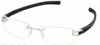 Tag Heuer 7643 Track-S Eyeglasses Eyeglasses - 011 Pure Front / Black Temples