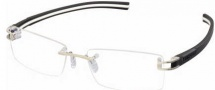 Tag Heuer 7644 Track-S Eyeglasses Eyeglasses - 003 Pure Front / Black - White Temple