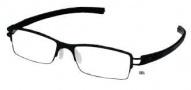 Tag Heuer Track-S 7622 Eyeglasses Eyeglasses - 001 Black / Black Temple