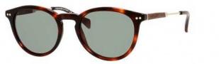Tommy Hilfiger T-hilfiger 1198/S Sunglasses Sunglasses - 07PY Havana (A3 Green Foster Lens)