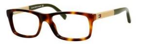Tommy Hilfiger T_hilfiger 1209 Eyeglasses Eyeglasses - 03IS Havana