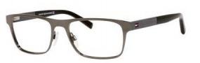Tommy Hilfiger T_hilfiger 1210 Eyeglasses Eyeglasses - 0SMA Dark Ruthenium