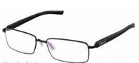 Tag Heuer Trends Rubber 8005 Eyeglasses Eyeglasses - 001 Black - Black Temple / Matte Black Front