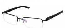 Tag Heuer Trends Rubber 8207 Eyeglasses Eyeglasses - 001 Black - Black Temple / Matte Black Front