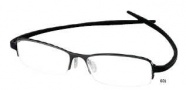 Tag Heuer Reflex 2 3725 Eyeglasses Eyeglasses - 001 Black Temple / Black Ceramic