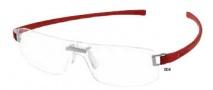 Tag Heuer Panorama Track 3573 Eyeglasses Eyeglasses - 004 Red Temple / Titanium