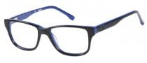 Guess GU 9104 Eyeglasses Eyeglasses - BLKBL: Black / Blue