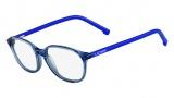 Lacoste L3609 Eyeglasses Eyeglasses - 466 Petroleum (Blue)