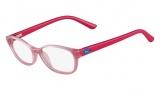 Lacoste L3607 Eyeglasses Eyeglasses - 664 Pink