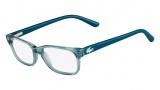 Lacoste L3606 Eyeglasses Eyeglasses - 467 Azure