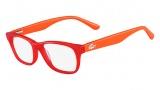 Lacoste L3604 Eyeglasses Eyeglasses - 615 Red