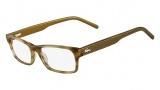 Lacoste L2688 Eyeglasses Eyeglasses - 318 Olive Marble