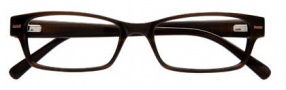 Cole Haan CH210 Eyeglasses Eyeglasses - Brown Horn