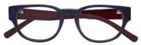 Cole Haan CH224 Eyeglasses Eyeglasses - Navy Laminate