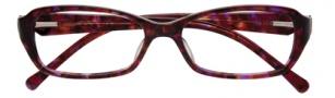 Cole Haan CH949 Eyeglasses Eyeglasses - Wine Marble