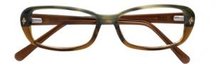Cole Haan CH956 Eyeglasses Eyeglasses - Green Horn Fade