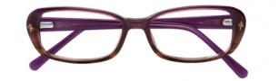 Cole Haan CH956 Eyeglasses Eyeglasses - Purple Horn Fade