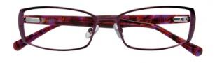 Cole Haan CH957 Eyeglasses Eyeglasses - Plum
