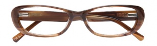 Cole Haan CH958 Eyeglasses Eyeglasses - Brown Horn