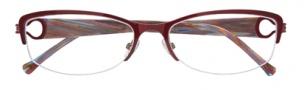 Cole Haan CH959 Eyeglasses Eyeglasses - Burgundy