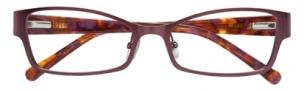 Cole Haan CH966 Eyeglasses Eyeglasses - Plum