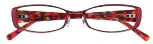 Cole Haan CH969 Eyeglasses Eyeglasses - Burgundy