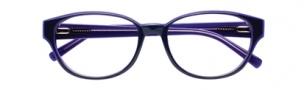 Cole Haan CH1001 Eyeglasses Eyeglasses - Purple