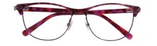 Cole Haan CH1008 Eyeglasses Eyeglasses - Eggplant Tortoise