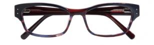Cole Haan CH1012 Eyeglasses Eyeglasses - Navy - Wine Horn