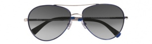 Cole Haan CH610 Sunglasses Sunglasses - Cobalt / Black Gradient Lenses