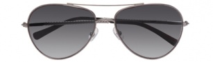 Cole Haan CH610 Sunglasses Sunglasses - Gunmetal / Black Gradient Lenses