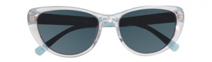 Cole Haan CH615 Sunglasses Sunglasses - Crystal Front / Light Blue Temple