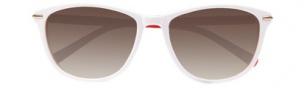Cole Haan CH618 Sunglasses Sunglasses - White Laminate