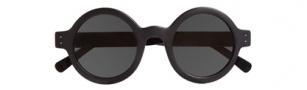 Cole Haan CH692 Sunglasses Sunglasses - Matte Black / Black Temples