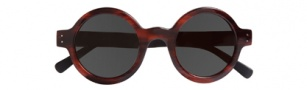 Cole Haan CH692 Sunglasses Sunglasses - Red / Grey Temples