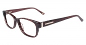Anne Klein AK5017 Eyeglasses Eyeglasses - Burgundy Animal