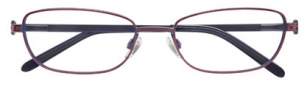 Ellen Tracy Andorra Eyeglasses Eyeglasses - Aubergine